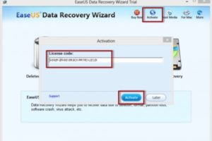 EASEUS Data Recovery Wizard 13.7 Crack + Serial Key Download Latest