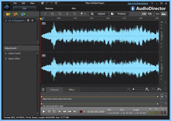 CyberLink AudioDirector Ultra 11.0.2304.0 With Crack [Latest] 2021