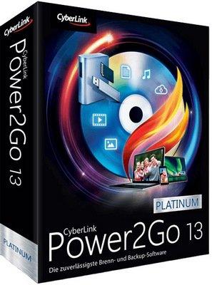 CyberLink Power2Go Platinum 13.1.1024.0 With Crack