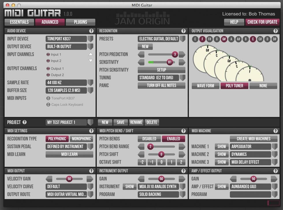 Jam Origin MIDI Guitar Crack 2.2.1 {Win & Mac} Latest 2021